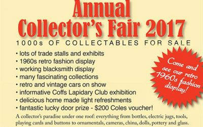 2017 Annual Collector's Fair – May 27 and 28 2017